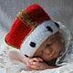 Для новорожденных, ручной работы. Заказать Шапка-корона для фотосессии. Mария Green Eyes & сompany. Ярмарка Мастеров. Для фотосессии