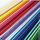 Фетр жесткий (Корея) 62 цвета Размер листа 45х36 см  Толщина листа 1,2 мм Стоимость 100 руб./лист