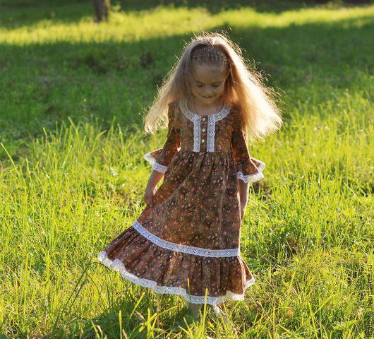 """Одежда для девочек, ручной работы. Ярмарка Мастеров - ручная работа. Купить Платье для девочки """"Прованс"""". Handmade. Платье для девочки"""