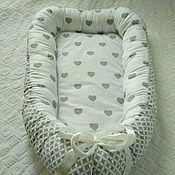 Работы для детей, ручной работы. Ярмарка Мастеров - ручная работа Кокон-гнездышко для новорожденного babynes. Handmade.