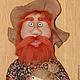 """Сказочные персонажи ручной работы. Ярмарка Мастеров - ручная работа. Купить Кукла """"Домовой"""". Handmade. Подарок, куклы, медная проволока"""