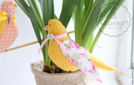 Птички в стиле Тильда. Авторская ручная работа. Мастерская `Tildaroom` (Люба Морозова) ©