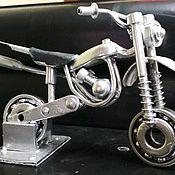 Автомобильные сувениры ручной работы. Ярмарка Мастеров - ручная работа Мотоцикл спортивный КТМ. Handmade.