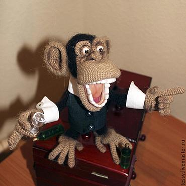 """Куклы и игрушки ручной работы. Ярмарка Мастеров - ручная работа Мастер-класс """"Мафиози Банано"""". Handmade."""