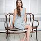 Felted dress bodycon 'Shabby denim'. Dresses. lenabaymut (Baymut). My Livemaster. Фото №6