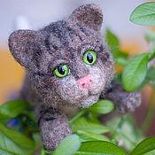 Куклы и игрушки ручной работы. Ярмарка Мастеров - ручная работа Котёнок Барс. Handmade.