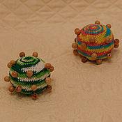Куклы и игрушки ручной работы. Ярмарка Мастеров - ручная работа Тактильный мячик. Handmade.