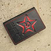 handmade. Livemaster - original item Passport cover