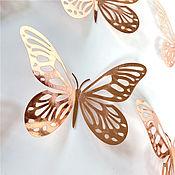 handmade. Livemaster - original item Butterfly Stickers 12 Pcs Wall, furniture, window, Surface Decor. Handmade.