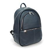 b7cb07062e07 Leather backpack women s black Jacqueline – shop online on ...
