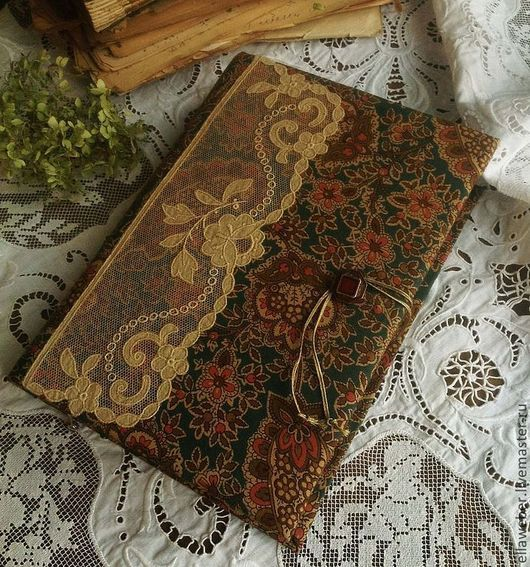 Блокноты ручной работы. Ярмарка Мастеров - ручная работа. Купить Блокнот ручной работы в викторианском стиле. Handmade. блокнот в подарок