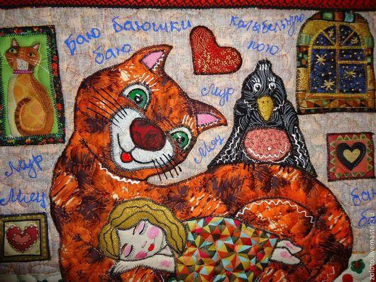 """Детская ручной работы. Ярмарка Мастеров - ручная работа. Купить Наволочка"""" Баю Бай"""". Handmade. Подушка декоративная, наволочка на подушку"""