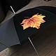 Зонты ручной работы. Заказать Зонт с кленовым листом. Ирина Кулемина. Ярмарка Мастеров. Осень, авторская работа, зонт с рисунком