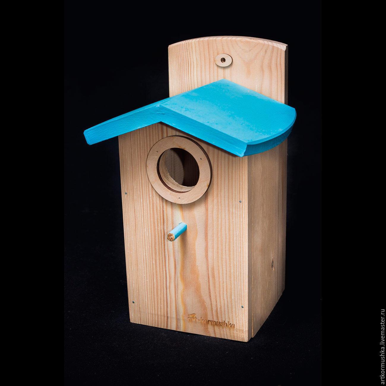 Birdhouse handmade for birds ' Cloud', Bird feeders, Moscow,  Фото №1