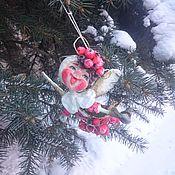 """Куклы и игрушки ручной работы. Ярмарка Мастеров - ручная работа Ватная игрушка """"Рябиновый эльф"""". Handmade."""