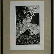 """Картины и панно ручной работы. Ярмарка Мастеров - ручная работа Картина """"Соблазнитель"""". Handmade."""