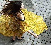 """Одежда ручной работы. Ярмарка Мастеров - ручная работа Платье """"Ветер"""". Handmade."""