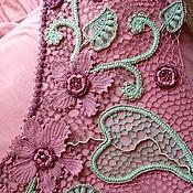 """Одежда ручной работы. Ярмарка Мастеров - ручная работа Топ """"Орхидеи для мамы"""". Handmade."""