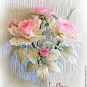"""Цветы и флористика ручной работы. Ярмарка Мастеров - ручная работа Букет """"Нежность"""". Handmade."""