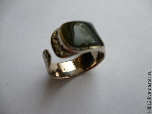 """Кольца ручной работы. Ярмарка Мастеров - ручная работа. Купить кольцо """"Бычий глаз"""" авторская работа. Handmade. Тёмно-синий"""
