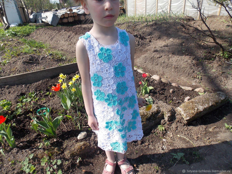 Платье в стиле Ирландского кружева, Платья, Санкт-Петербург,  Фото №1
