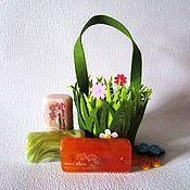 """Косметика ручной работы. Ярмарка Мастеров - ручная работа Набор мыла """"Весенний"""", подарки на 8 марта, подарки учителям, австралия. Handmade."""