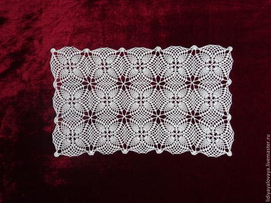 Текстиль, ковры ручной работы. Ярмарка Мастеров - ручная работа. Купить Дорожка №19. Handmade. Дорожка, скатерть вязаная