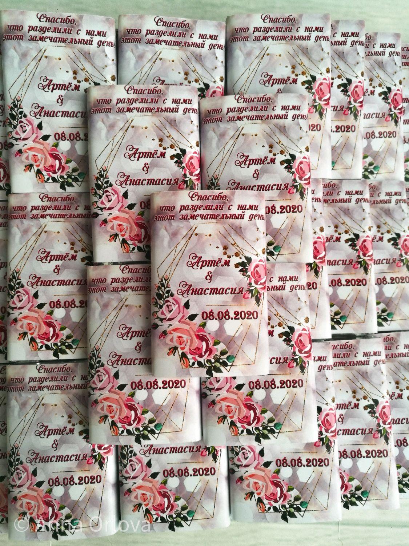 Свадебный шоколад. Бонбоньерка, Бонбоньерки, Нижний Новгород,  Фото №1