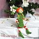 елочка декоративная, декоративная елка, интерьерная кукла, новогодние игрушки, новогодний декор, новогодний интерьер, новогоднее украшение, подарки на новый год, кукла-елочка, ёлка, сувенирная кукла,