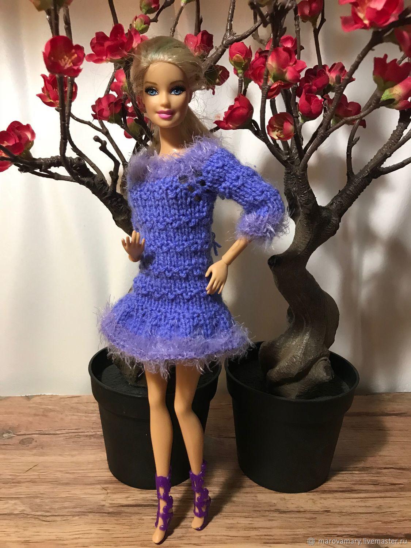 уютное мини платье для барби, Одежда для кукол, Москва,  Фото №1