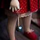 Коллекционные куклы ручной работы. Заказать Девочка в красном. Мурашова Наталья. Ярмарка Мастеров. Красный, хлопок
