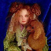 Куклы и игрушки ручной работы. Ярмарка Мастеров - ручная работа Танюша (кукла с которой можно играть). Handmade.