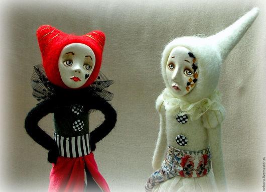 Коллекционные куклы ручной работы. Ярмарка Мастеров - ручная работа. Купить Алиса в стране чудес. Белая королева. Авторская кукла.. Handmade.