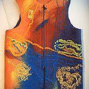 """Одежда ручной работы. Ярмарка Мастеров - ручная работа Детский жилет из шерсти """"В путь - дорожку"""". Handmade."""