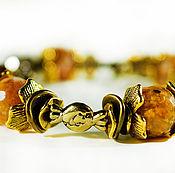 Фен-шуй и эзотерика handmade. Livemaster - original item Bracelet made of natural agate stones