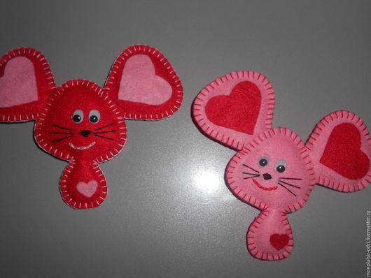 """Подарки для влюбленных ручной работы. Ярмарка Мастеров - ручная работа. Купить Мышка """"Любимка"""". Handmade. Розовый, сувениры ручной работы"""