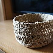 Для дома и интерьера handmade. Livemaster - original item Basket. Handmade.
