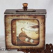 Для дома и интерьера handmade. Livemaster - original item Box for storage of