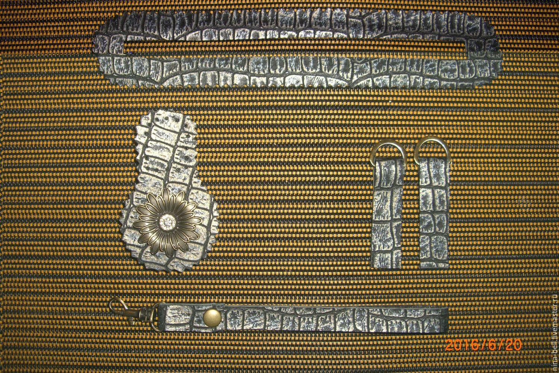 Фурнитура для сумки кожанная, Аппликации, Москва, Фото №1