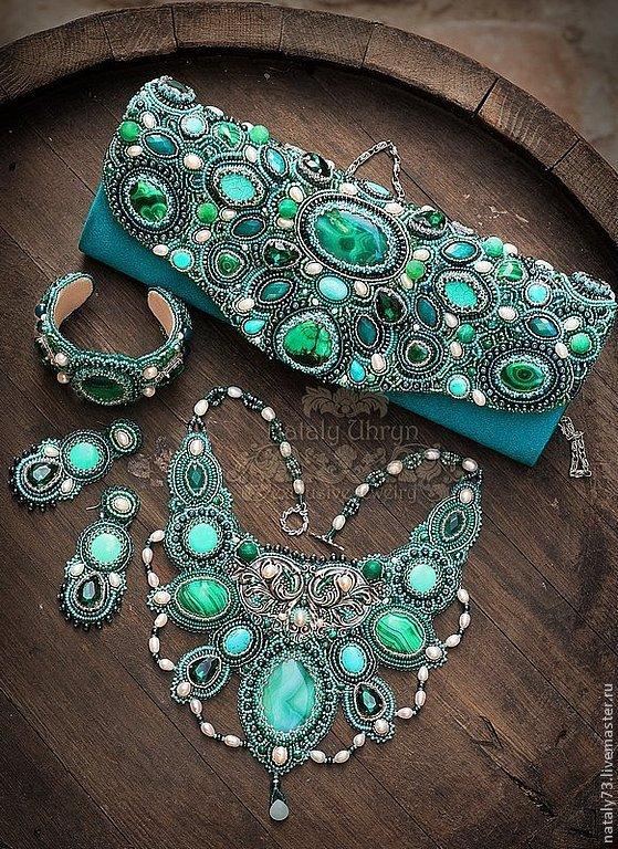 handbag-clutch 'Esmeralda' (2 versions), Clutches, Lviv,  Фото №1