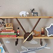 Для дома и интерьера handmade. Livemaster - original item Wooden pilot`s shelf. Handmade.