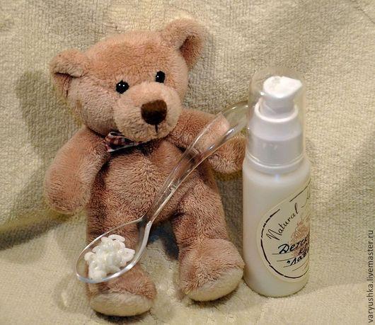 Крем, гель, сыворотка ручной работы. Ярмарка Мастеров - ручная работа. Купить Детский крем «Лаванда». Handmade. Белый