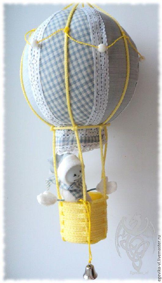Детская ручной работы. Ярмарка Мастеров - ручная работа. Купить Воздушный шар в детскую комнату. Handmade. Воздушный шар