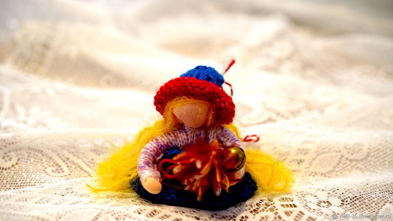 Вольдорфская кукла Девочка- Цветочек, Вальдорфские куклы и звери, Химки,  Фото №1