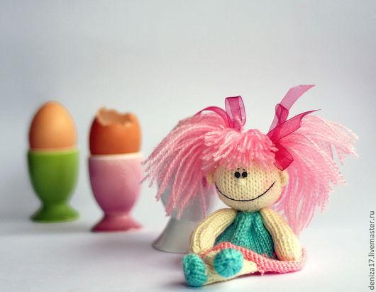 """Обучающие материалы ручной работы. Ярмарка Мастеров - ручная работа. Купить Мастер-класс """"Насадка на яичко: Весёлая куколка"""". Handmade."""