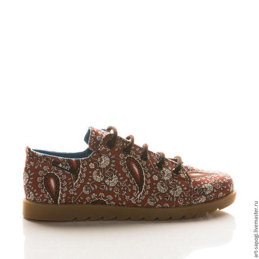 Обувь ручной работы. Ярмарка Мастеров - ручная работа. Купить Кеды 12-196 (СК). Handmade. Мода, лето 2016