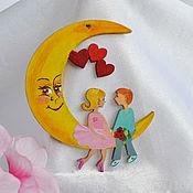handmade. Livemaster - original item Romantic accessory, Together with you!. Handmade.