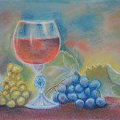 Картины ручной работы. Ярмарка Мастеров - ручная работа Картина Вкус винограда. Handmade.