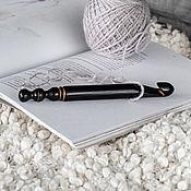 Материалы для творчества handmade. Livemaster - original item 16mm Cedar Wood Knitting Hook. K293. Handmade.