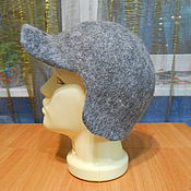 Caps handmade. Livemaster - original item Hat with ears.. Handmade.